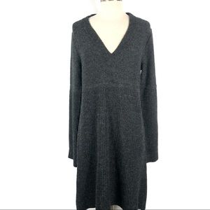 The North Face Gray Saguaro Sweater Dress Large